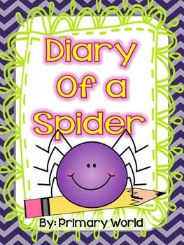 """Journeys 2nd Grade """"Diary of a Spider"""" Unit 1.4"""