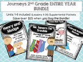 Journeys 2nd Grade BUNDLE for the ENTIRE YEAR