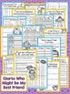 Gloria Who Might Be My Best Friend Second Grade NO PREP Supplemental Printables