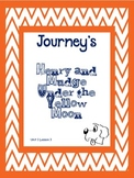 Journey's 2nd Grade Henry and Mudge Under the Yellow Moon