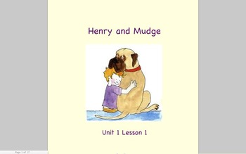 Journeys Grade 2 Henry and Mudge Unit 1.1