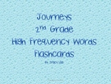 Journeys 2nd Grade High Frequency Word Flashcards