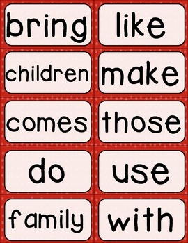 Journeys 2nd Grade High Frequency and Vocab for Word Wall: Patriotic
