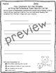 Journeys 2nd Grade How Chipmunk Got His Stripes Skills Test and Writing Tasks