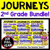 Journeys 2nd Grade Units 1-6 2011 Supplemental Activities Full Year Bundle