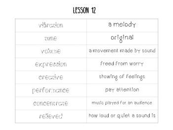 Journeys 2nd Grade Lesson 13, Schools Around The World - Vocabulary Sort