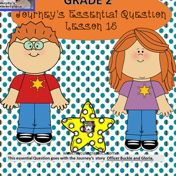 Journeys 2nd Grade Lesson 15 Essential Question