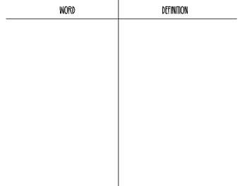 Journeys 2nd Grade Lesson 19, Signmaker's Assistant - Vocabulary Sort