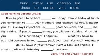 Journeys 2nd Grade - Lesson 2 Slides