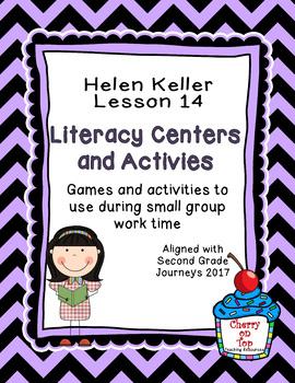 Journeys 2nd Grade Literacy Center- Lesson 14- Helen Keller