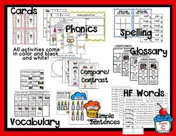 Journeys 2nd Grade Literacy Center- Lesson 2 My Family