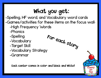 Journeys 2nd Grade Literacy Centers- Unit 6 Bundle