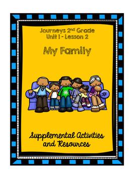 Journeys 2nd Grade My Family Supplemental Activities