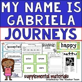 Journeys 2nd Grade Unit 4 Lesson 18 | My Name is Gabriela