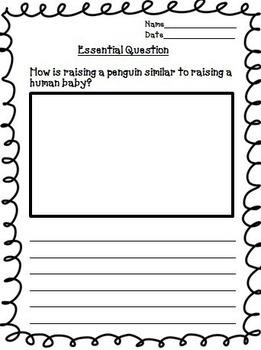 Penguin Chick Journeys 2nd Grade Unit 5 Lesson 21 Activities & Printables