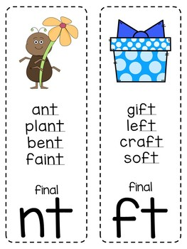 Journeys 2nd Grade Phonics Cards (WHITE BACKGROUND)