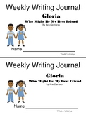 Journeys 2nd Grade Quick Write Journal-Gloria Who Might Be