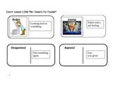 """Journeys 2nd Grade Reading Series Vocab Dominoes """"Mr. Tanen's Tie Trouble"""""""