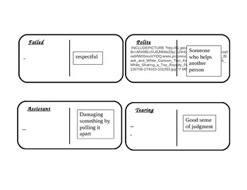 """Journeys 2nd Grade Reading Series Vocabulary Dominoes """"The Signmaker's..."""""""