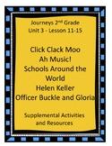 Journeys 2nd Grade Resources Bundle Unit 3