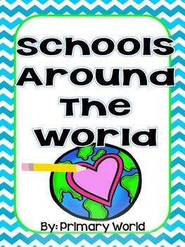 Journeys Unit 3.13 2nd Grade  Schools Around the World- Vocabualry Analysis Maps