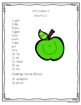 Journeys © 2nd Grade Spelling Lists