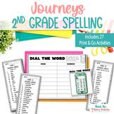 Journeys 2nd Grade Spelling Lists and Activities