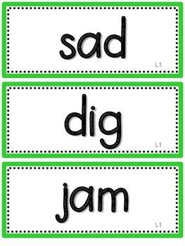 Journeys 2nd Grade Spelling Words-Green