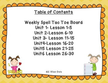 Journeys 2nd Grade Spelling and Vocabulary Homework Forms Lessons 1-30