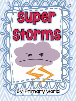 "Journeys 2nd Grade ""Super Storms"" 2.8"