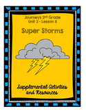 Journeys 2nd Grade Super Storms