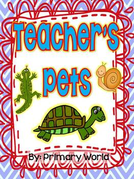 "Journeys Literacy Supplement 2nd Grade ""Teacher's Pets"" 1.5"