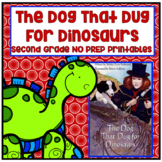 Journeys 2nd Grade - The Dog That Dug For Dinosaurs Unit 6 Lesson 27 Printables