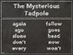 Journeys 2nd Grade The Mysterious Tadpole Headers