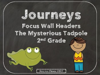Journeys 2nd Grade The Mysterious Tadpole Headers