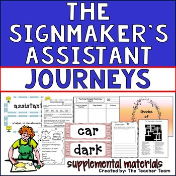 The Signmaker's Assistant Journeys 2nd Grade Supplemental