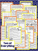 Two of Everything Second Grade NO PREP Supplemental Printables