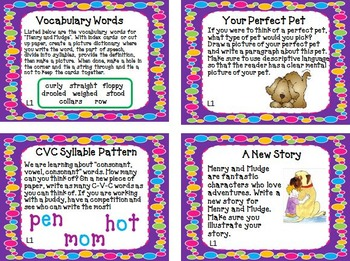 Journeys 2nd Grade Unit 1 Task Cards for Centers and Small Groups  2011 version