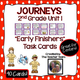 Journeys 2nd Grade Unit 1 Early Finishers Task Cards 2011