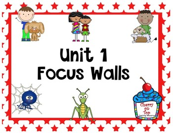 Journeys 2nd Grade Unit 1 Focus Walls