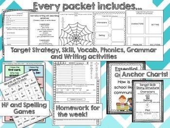 Journeys 2nd Grade Unit 1 Lessons 1-5 BUNDLE