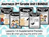 Journeys 2nd Grade Unit 1 Lessons 1 to 5 BUNDLE