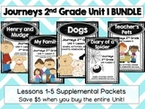 Journeys 2nd Grade Unit 1 Lessons 1-5 BUNDLE