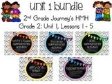 Journey's 2nd Grade Unit 1, Lessons 1 - 5 BUNDLE - supplem