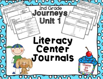 Journeys 2nd Grade Unit 1 Literacy Center Journal
