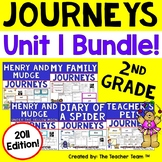 Journeys 2nd Grade Unit 1 Supplemental Activities and Printables 2011 version