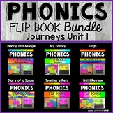 Journeys 2nd Grade | Unit 1 | Phonics Flip Book Bundle