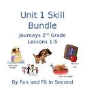 Journeys Unit 1 Reading Skills Bundle