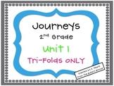 Journeys 2nd Grade Unit 1 Tri-Folds Only