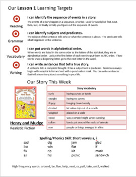 Journeys 2nd Grade Unit 1 Weekly Newsletters